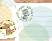 Like Cats and Dogs - A5 Stationery - 12, 24 or 48 sheets