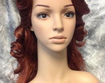 Mermaid Wig Auburn #2217