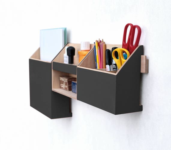 wand veranstalter schwarz mail organizer wandbehang. Black Bedroom Furniture Sets. Home Design Ideas