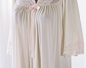 Shadowline Blush Pink Nightgown Sweeping Lace Hemline