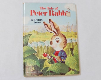 Beatrix Potter Peter Rabbit Big Golden Book Illustrations by Rod Ruth 1978 Vintage Story Book Tale of Peter Rabbit Vintage Childrens Book