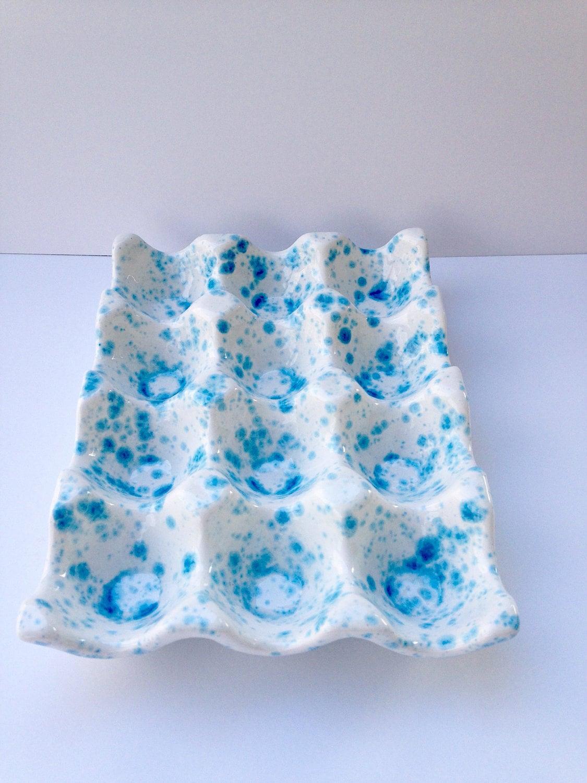 Duck Egg Blue Bathroom Accessories Egg Holder Etsy