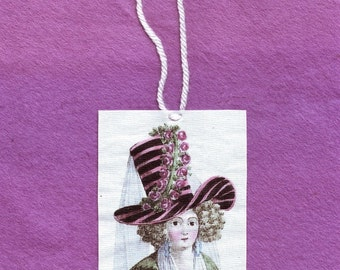 18th Century Woman Wall Hanging