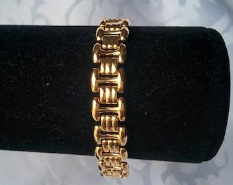 Napier Gold Tone Bracelet