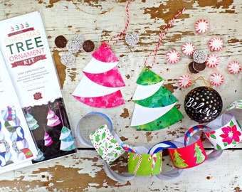 Printable Christmas decoration, Christmas instant download, Christmas printable, DIY xmas ornaments, craft kits, Christmas tree ornaments