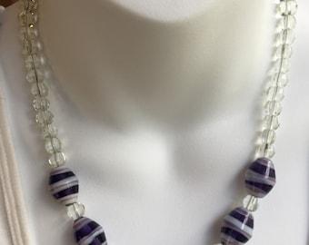 Chunky glass beads