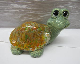 Two Glazed Turtles Sold Separately
