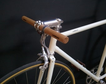 oak wood bicycle handlebar