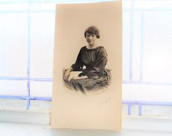 Woman Photograph Vintage 1930s Art Deco