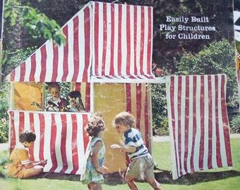 Sunset Magazine July 1971, fruit canning, Northwest islands, sundials, easy playhouses, bellflowers, marmots, camp stoves, bike bags,
