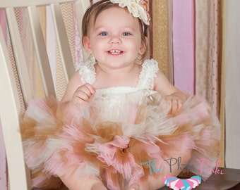 """Cake Smash Outfit """"Luca Gold"""" Pink and gold first birthday, pink and gold birthday outfit, pink and gold birthday outfit, cake smash outfit"""