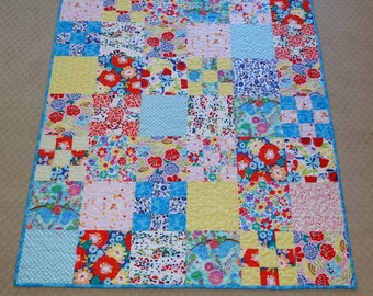 Flowers and Birds child's quilt