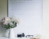 2017 'Colour in' Wall Planner