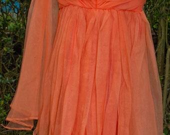 vintage prom dress circa 1950's,