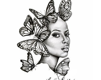 Transformed - Large Art Print - The Beauty Collection