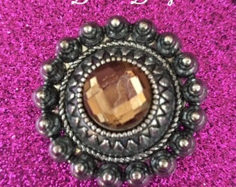 Magnetic Brooch Scarf Pin for Scarves, Blouses, Dresses and Shawls, Magnetic button