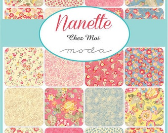 Nanette Layer Cake by Chez Moi for Moda - One Layer Cake - 33160LC