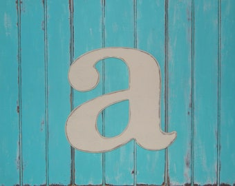lowercase letter a distressed 17 inch wood letters u choose color lowercase wooden letters wall letters