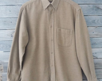 Mulberry England Brown Button Down Shirt - Size 39