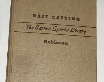 1941 Book, Sports Library, BAIT CASTING
