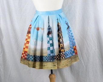 Harry Potter Skirt featuring Quidditch and The Golden Snitch from Hogwarts School of Witchcraft and Wizardry Dress Clothing