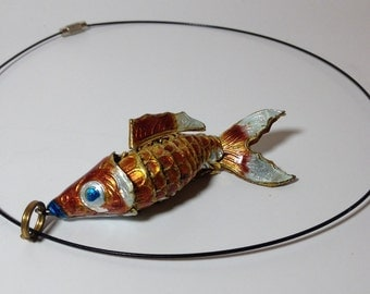 Swimming Fish necklace