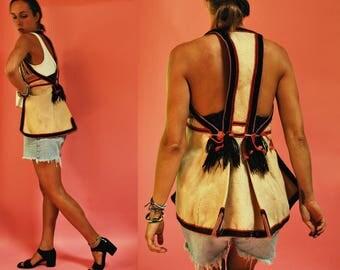 vintage Traditional Greek Wool Folk Vest