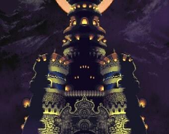 Video Game Art - Chrono Trigger - Digital Art Print - Super Nintendo Tribute