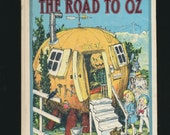 vintage hardcover The Road to Oz by L. Frank Baum, Neill illustrations, 1960's