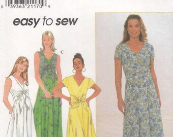 Simplicity 7963 Misses Dress Pattern 4 Designs Size 16-20 New Factory Folded