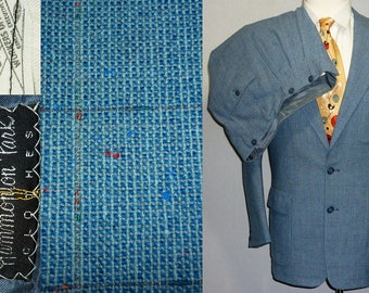 1950s Suit / 37 - 38 / S - M / Flecked / Rockabilly / Stage / Elvis / Vintage 1950s Mens Fashion / 50s Suit / Atomic / Rockabilly Suit / VLV