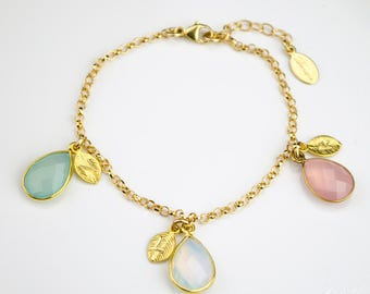 Mother birthstone bracelet - mothers bracelet - mothers jewelry - personalized birthstone bracelet - grandma bracelet - birthstone jewelry