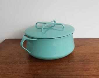 Dansk Kobenstyle Turquoise Dutch Oven