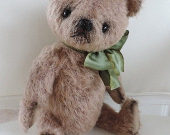 Benjamin, OOAK Mohair Artist Bear, Aleta Breese