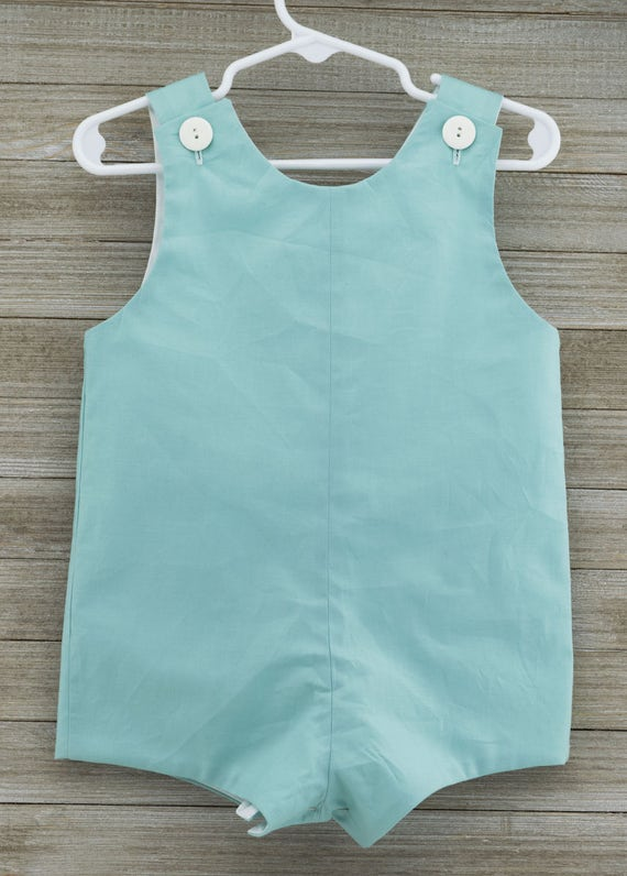 Custom made Songbird solid Jon Jon/ Romper. This outfit is perfect for beach photos, or just summer/spring fun!