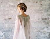 Lakshmi   Beaded Crystal Pearl Silk Train   Byzantine Collection