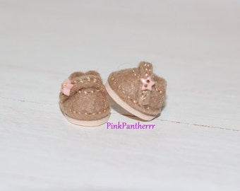LATI WHITE Shoes ~ Light Brown ~ Candy Drops Collection ~ Only 1 pair In Stock