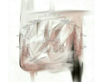 "Digital Art ""Thrash"" Painting - Abstract Print"