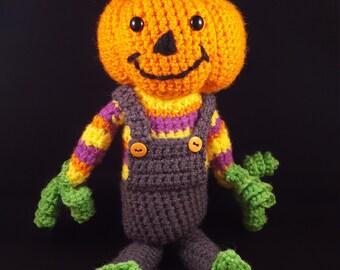 Peter Pumpkinhead PDF Crochet Pattern