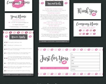 LipSense Branding Package - Lips
