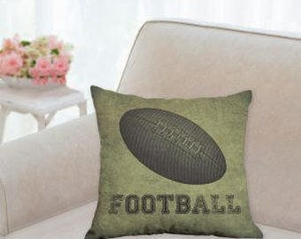 Football Designer Sports Pillow