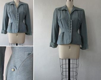 1940s blazer | vintage blazer | vintage 1940s blazer | 1940s jacket | vintage jacket | vintage 1940s jacket | small | The Hyde Park Blazer