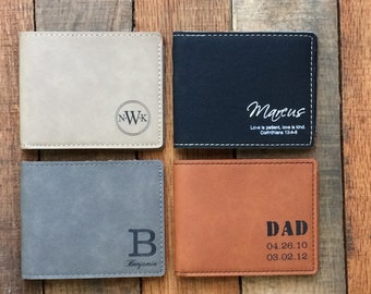 Father-of-the-Bride gift Father of the Bride Wallet Father-of-the-Groom Gift Wedding Gift for Dad Father-in-Law Gift from Bride to Groom