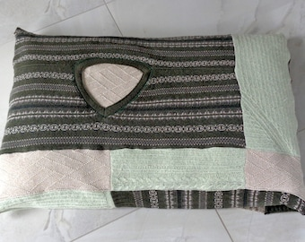 Pet Bed Duvet, Eco friendly pet bed cover, washable pet cover made from sweater remnants