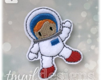 """Astronaut Feltie Digital Design File - 1.75"""""""
