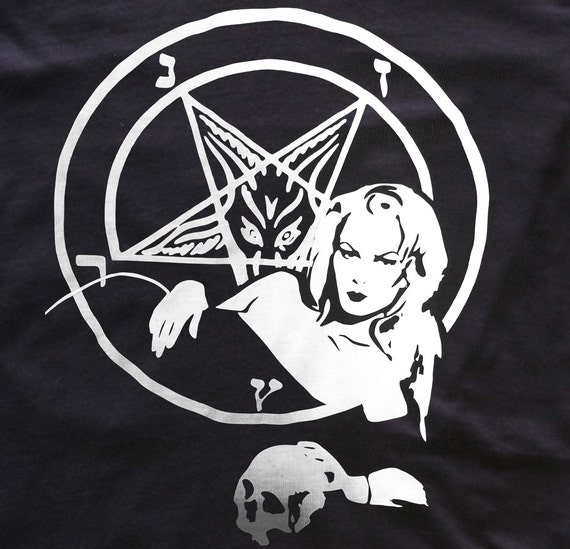 Zeena LaVey - church of satan - Anton LaVey - t-shirt/top/tank dress