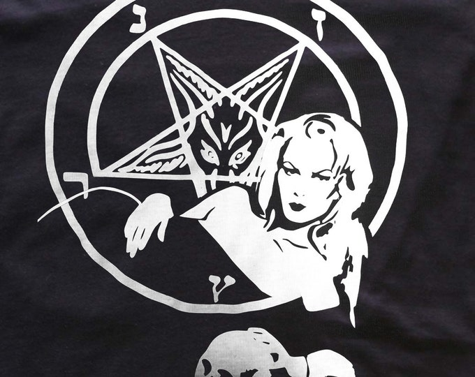 Zeena LaVey - church of satan - Anton LaVey - t-shirt/top/tank dress