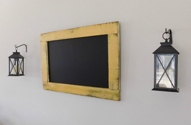 Yellow Birthday Chalkboard Decorative Chalk Board Kitchen