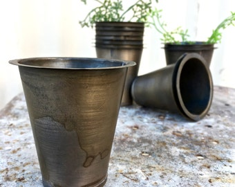 Tin Cup Insert Made to Fit Perfectly in Sugar Mold