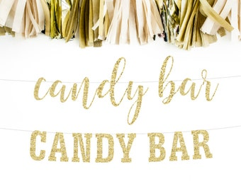 Candy Bar Banner, Candy Bar Sign, Wedding Banner, Sweets Banner, Candy Buffet, Candy Table Banner, Candy Table Sign, Party Banner